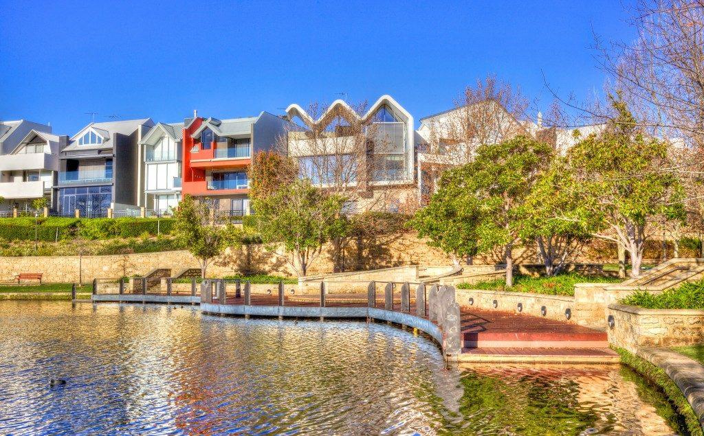 Lake side properties