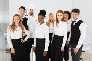 restaurant crew