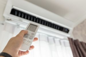 changing AC temperature