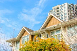 condo and row house