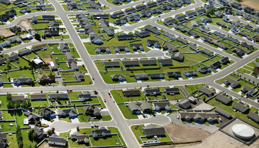 suburb landscape