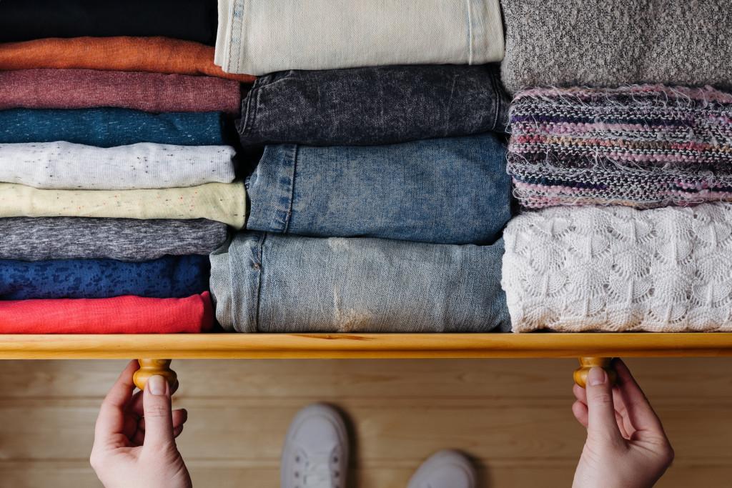 arranging your wardrobe